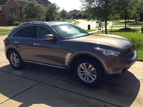2011 Infiniti FX35 for sale at less than Truecar pricing